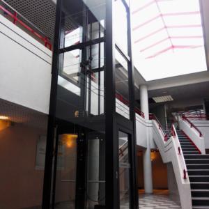 Indoor black shaft enclosure 3